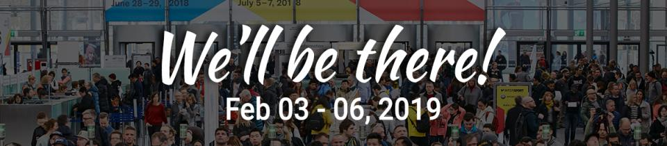 ISPO Munich, We will be there!